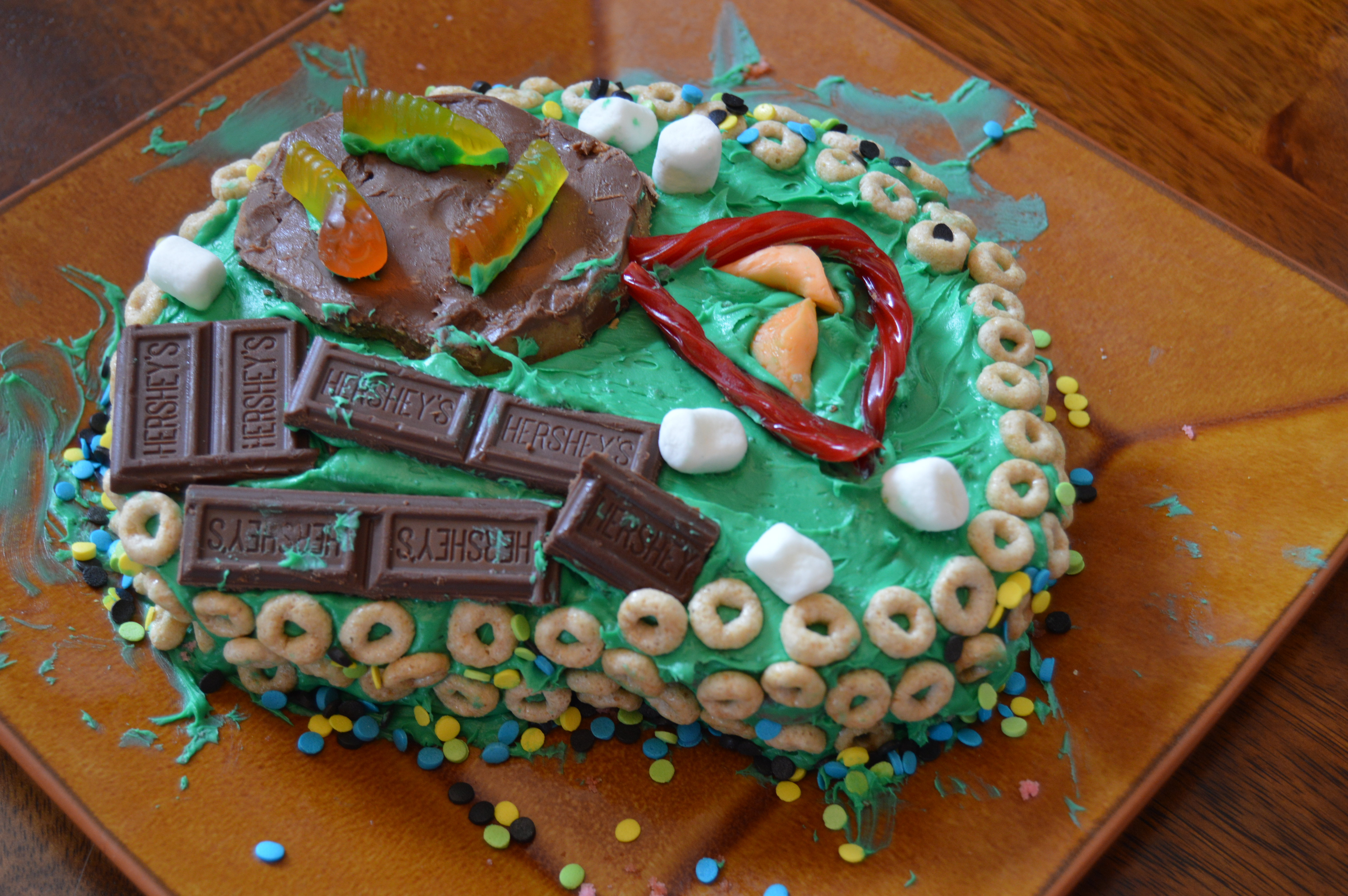 Plant Cell Cake Project, So Yummy! – Happy. Homeschooling. Housewife.